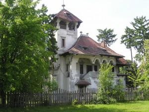 Vila Minovici - Fatada spre Soseaua Bucuresti Ploiesti