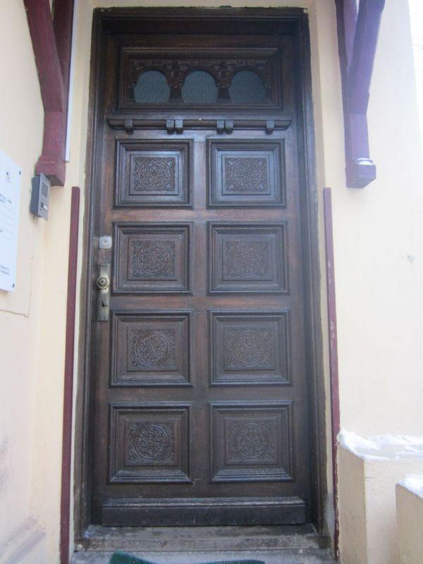 Steaua cu 8 colţuri - uşă