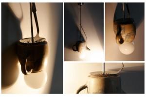 Lampa ceainic – Origamistudio.arh