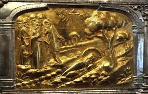 Racla Sfântului Dimitrie Basarabov, detaliu 1