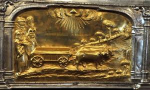 Racla Sfântului Dimitrie Basarabov, detaliu 2