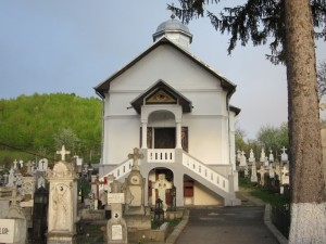 Mănăstirea Viforâta, Biserica cimitirului