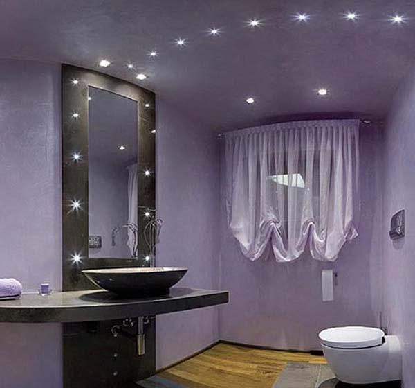 Purple And Black Bathroom: Light-purple-bathroom