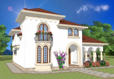 Casa stil mediteranean