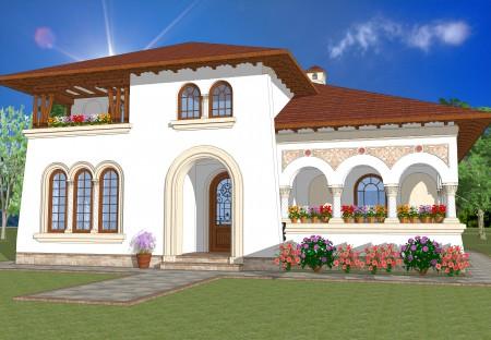 Casa stil neoromanesc