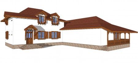 Casa stil traditional
