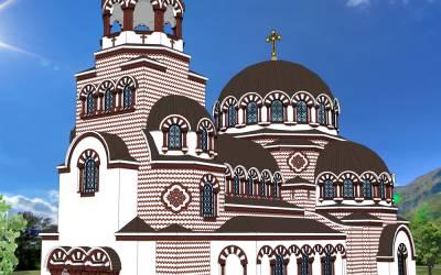 Biserică în stil bizantin